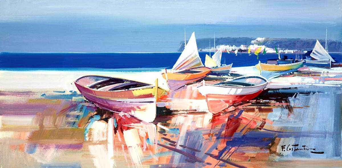 Harbour Reflections VI